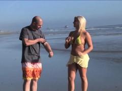 blonde pornstar dayna vendetta brings man home from beach
