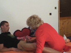 she finds her old mom riding husband's penis WWW.ONSEXO.COM