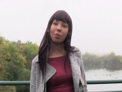 Ebony Beauty Bangs For Cash Outdoor
