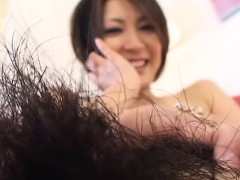 Subtitled Japanese Amateur Perfect Bush Naked Body Check