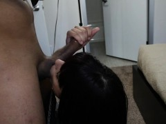 deepthroating woman fucked on tape for cash WWW.ONSEXO.COM