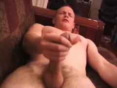 Amateur Lex Licks His Dick
