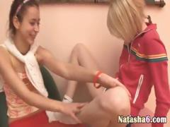 ultra-luxury-lesbians-fingering-pussies