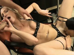 skinny-blonde-babe-fucked-in-the-salon-with-skinny-babe
