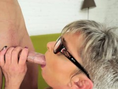 horny granny jessye in hot fuck action with stud oliver WWW.ONSEXO.COM