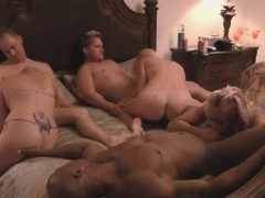darrell and nikki hit it off with an interracial orgy