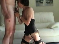 lingerie-clad granny is still sexy