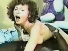 Busty Vintage Pornstar Loves Big Cock