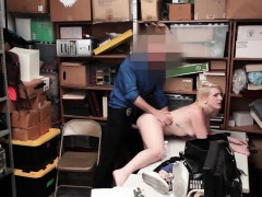 Shoplifter Fallon Love Gets Her Pussy Pounded By Lp Officer