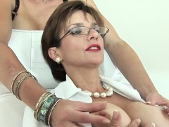 Unfaithful British Mature Lady Sonia Shows Her Giant Tits