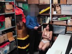 latin girl with natural tits maya morena penetrated by cop