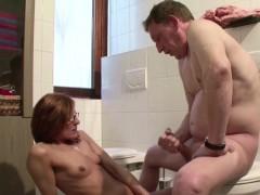 German Skinny Milf Seduce To Fuck By Stranger