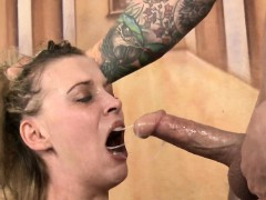 Brooklyn Moore Shocking Mouth Fucking