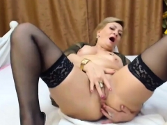 Slutty Mature Stockings Amateur Bitch