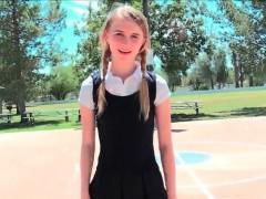 Teen Sharlotte Cutie In Pigtails Fresh New Hd Porn