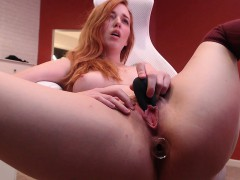 Sexy Teen Georgia Jones Hot Solo Masturbation Action