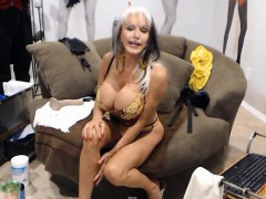 Mature Housewife Plays With Her Boobs On Webcam
