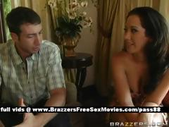 hot-brunette-girl-at-home-with-her-husband