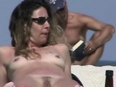 Splendid Nude Beach Voyeur Spy Cam Video