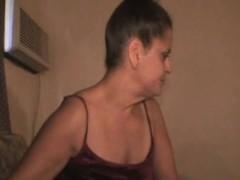 Brunette Crack Whore Sucks Dick And Taking Mouth Full Of Cum