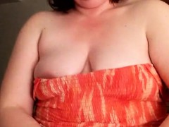 Fat woman piggy masturbation