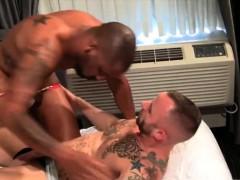 Muscle Jock Flip Flop And Cumshot