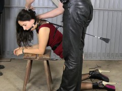 spanked-in-the-garage