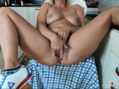 Big Boobs Camgirl Rides Her Toy On Webcam