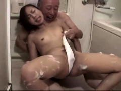 Asian Blowjob And Fuck With Creampie