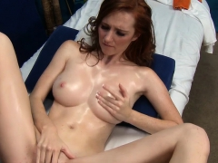 Pretty honey is bounding on dick getting large o