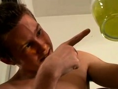 Boys Bareback Cum Piss Gay Xxx Billy Filling A Vase!!!