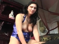 Cute Hottie Smothering A Lad With Her Ass And Bumpers