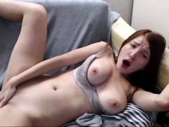 Redhead Chick With A Big Roud Boobs Get Semen
