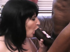 Working Woman Takes Huge Black Meat