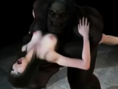 Monster Porn Threesome Fucked Sakura