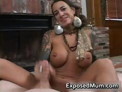 round-bigtits-tattooed-mom-fireplace-part3