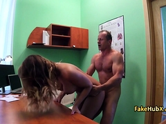 Doctor Fucked Brunette Like Wild