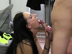 flawless czech slut was seduced in the mall and plowed in po