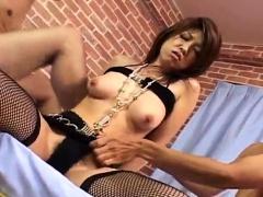 Reiko Yabuki delights with two - More at hotajp.com