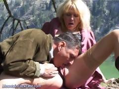mountain fuck fest blonde sex