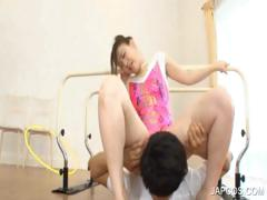 sexy-asian-gymnast-gets-oral-sex