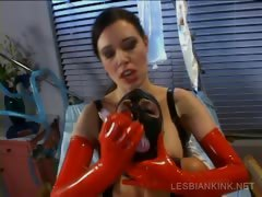 slave-gets-twat-dildoed-in-lesbo-bdsm-scene