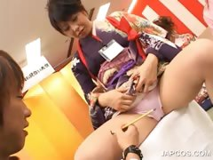 asian-seductress-gets-leggs-teased-in-group
