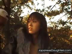 Young Japanese Daughter Fucked Hard Outdoor