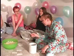 pijama-sex-party-with-teens-playing-truth-or-dare