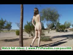 casey-lovely-brunette-amateur-walking-naked-outdoors