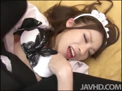 sweet-maid-nao-kojima-gets-her-shaved-pink-pussy-cleaned-by