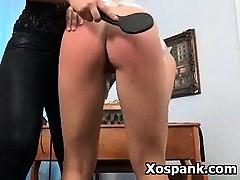 Kinky Erotic Milf In Vibrant Fetish Spanking Games