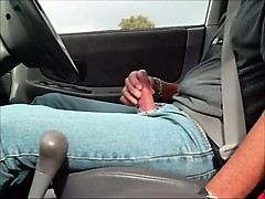 hot-sexy-bulge-jean-in-car