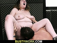 Slutty Bitch Gives Up Her Fat Snatch